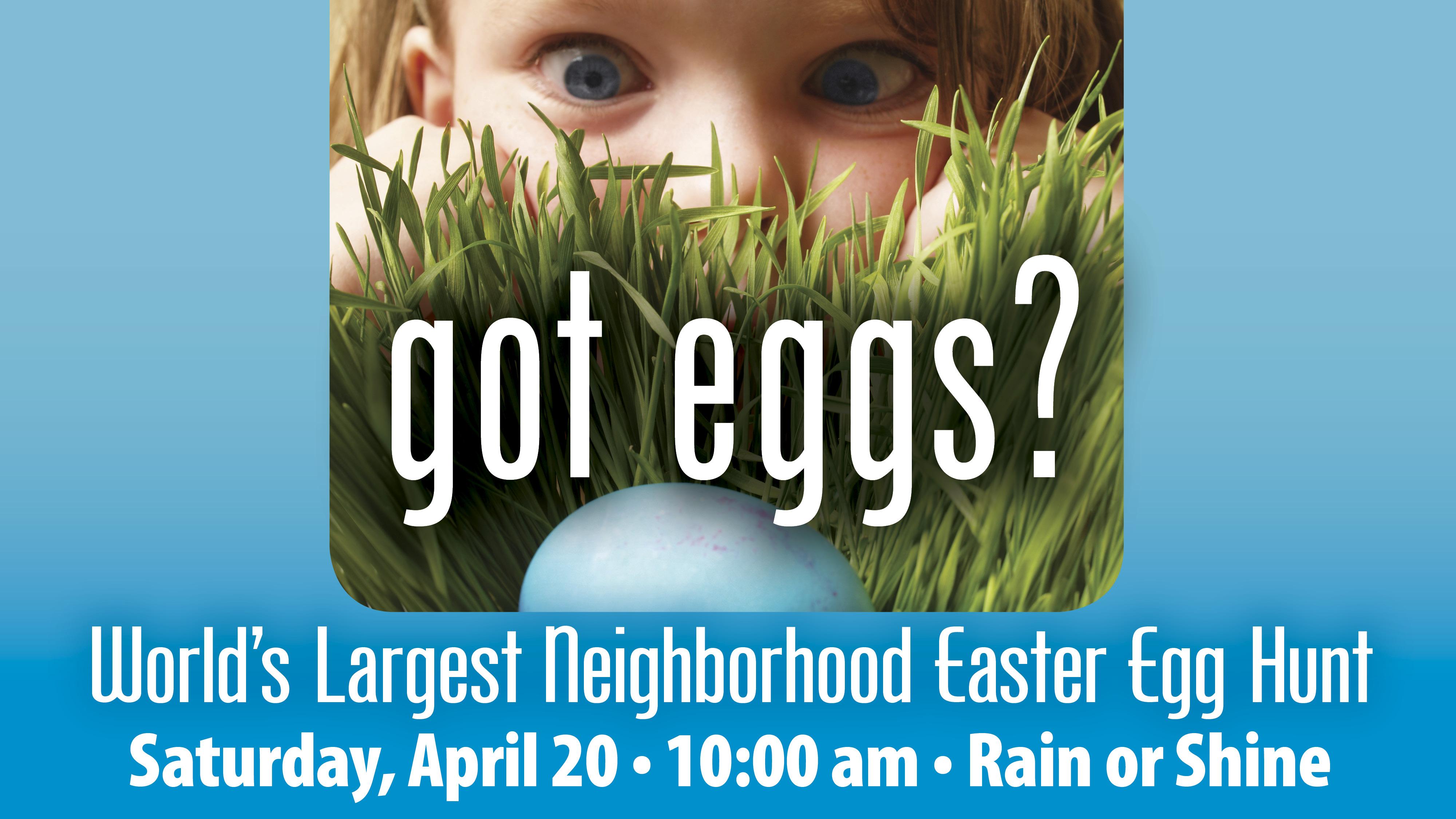 Eater Egg Hunt