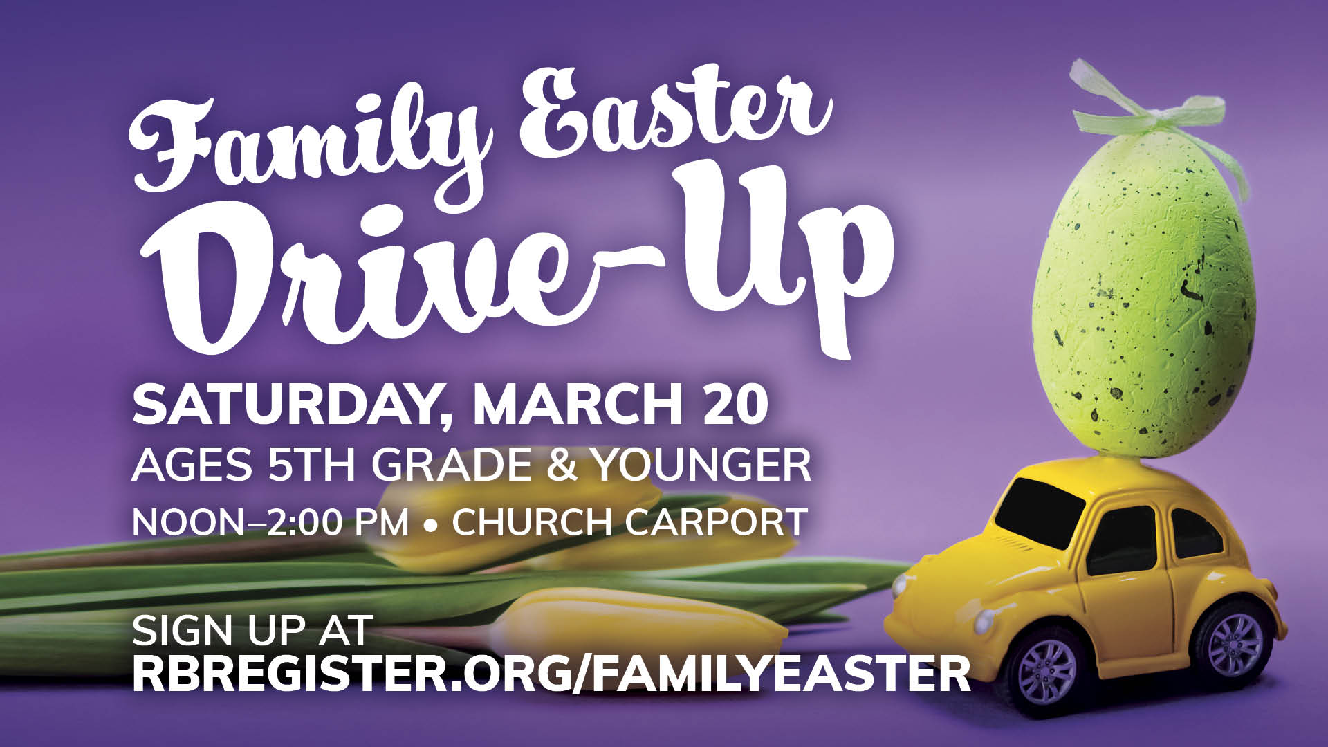 Family Easter Drive-Up