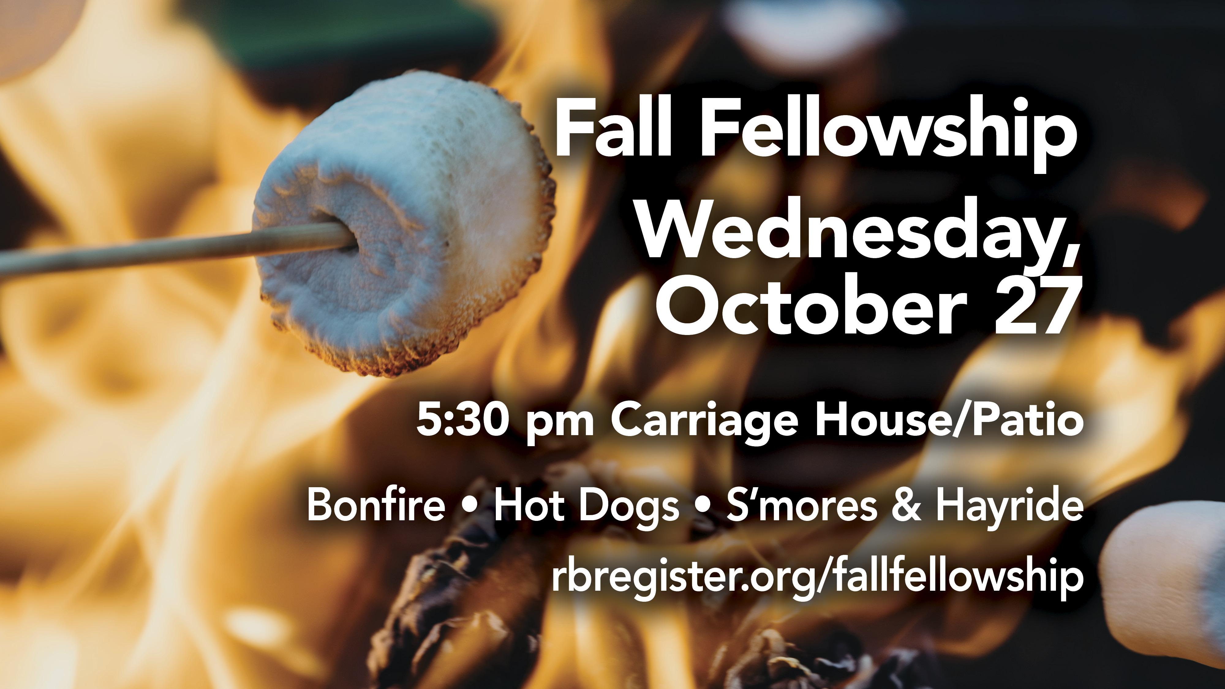 Fall Fellowship