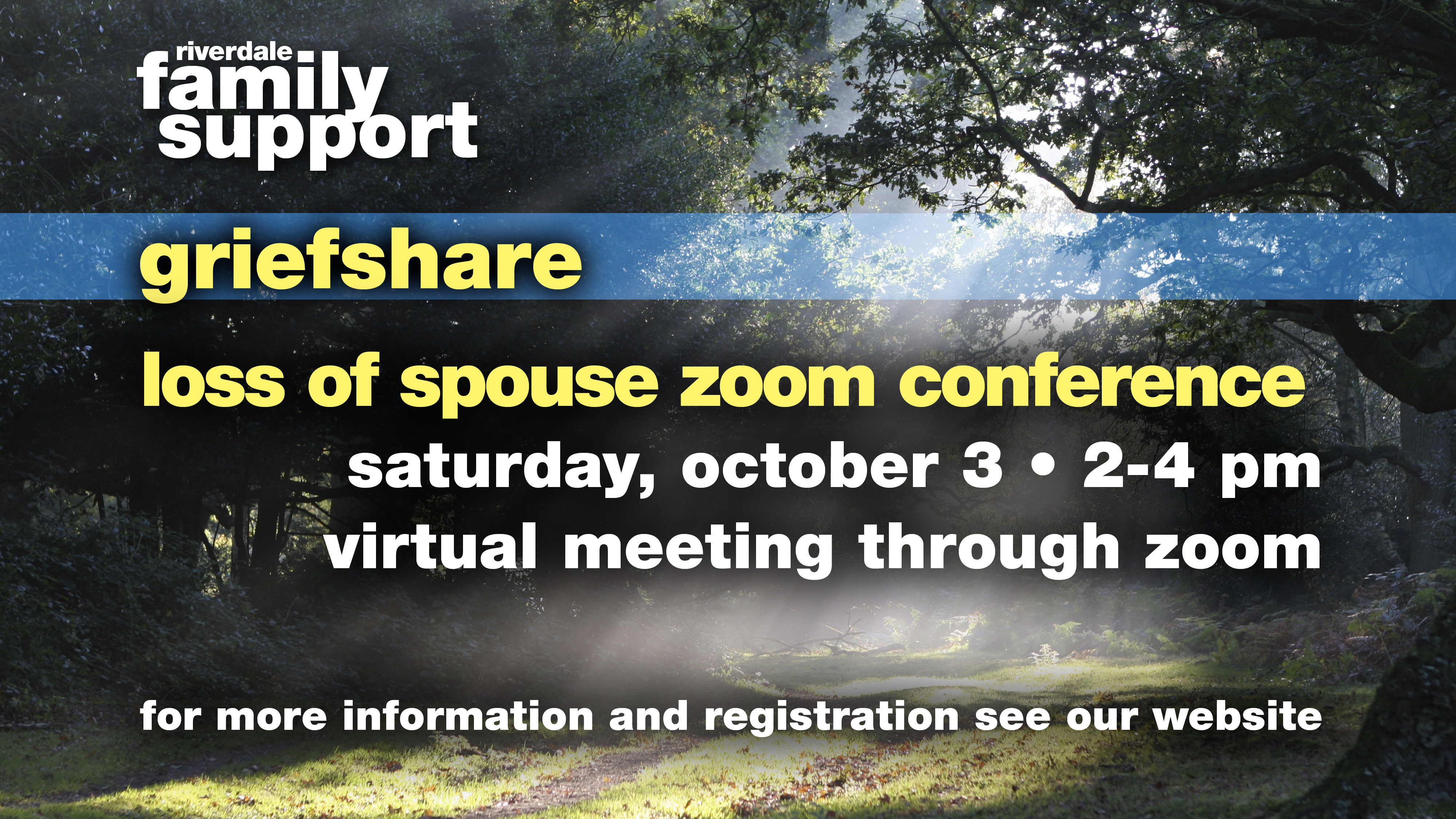 GriefShare Loss of a Spouse Zoom Conference