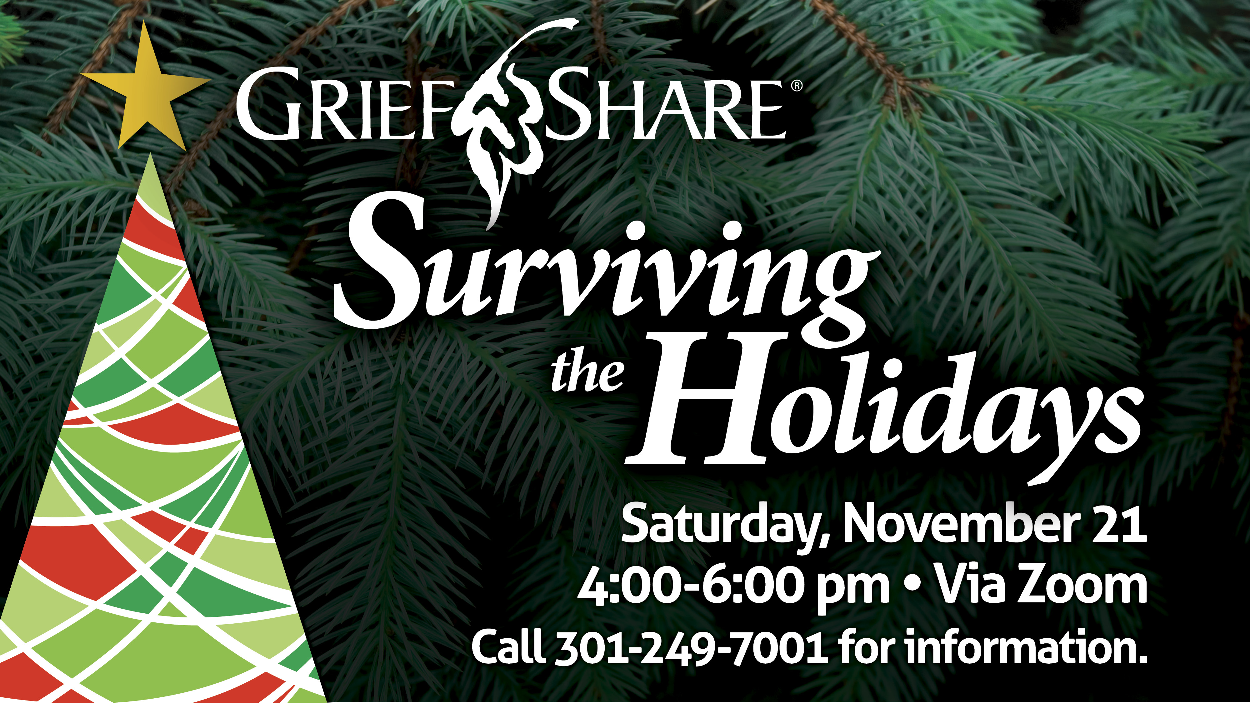 GriefShare Surviving The Holidays (Online)