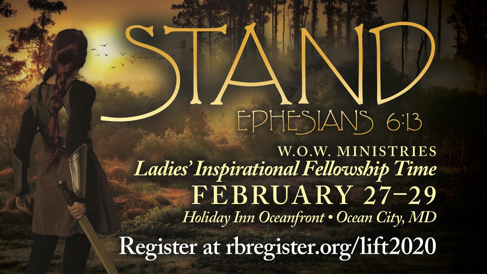 Ladies' Inspirational Fellowship Time class=