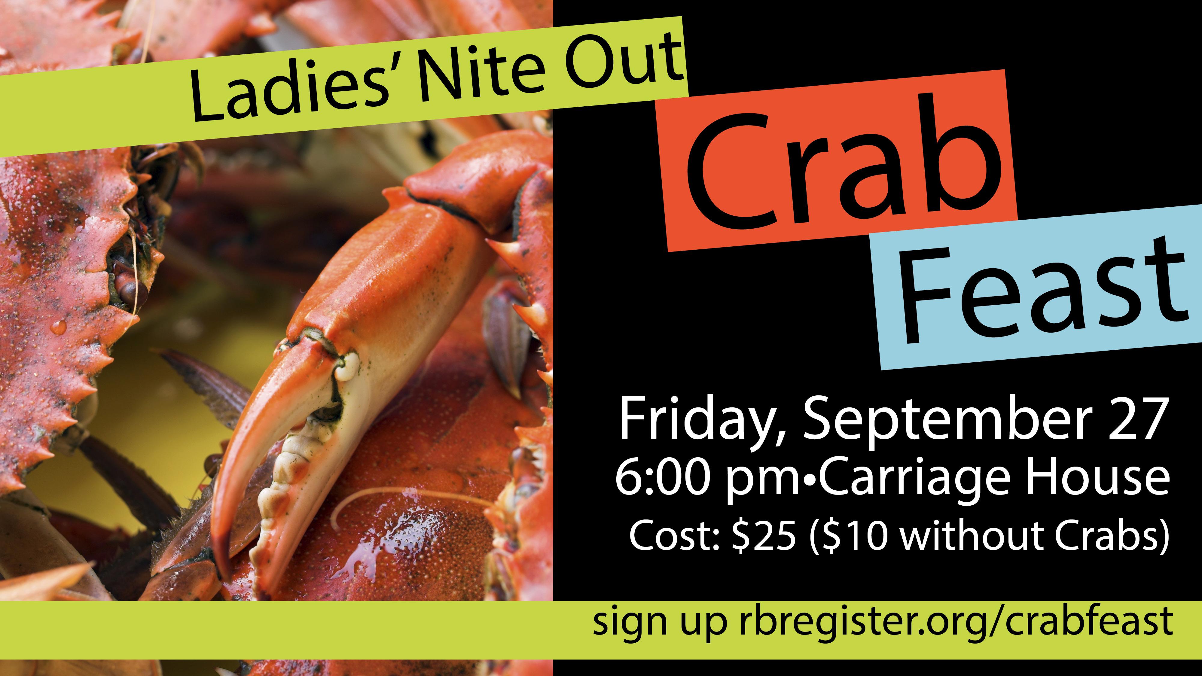 Ladies' Nite Out Crab Feast