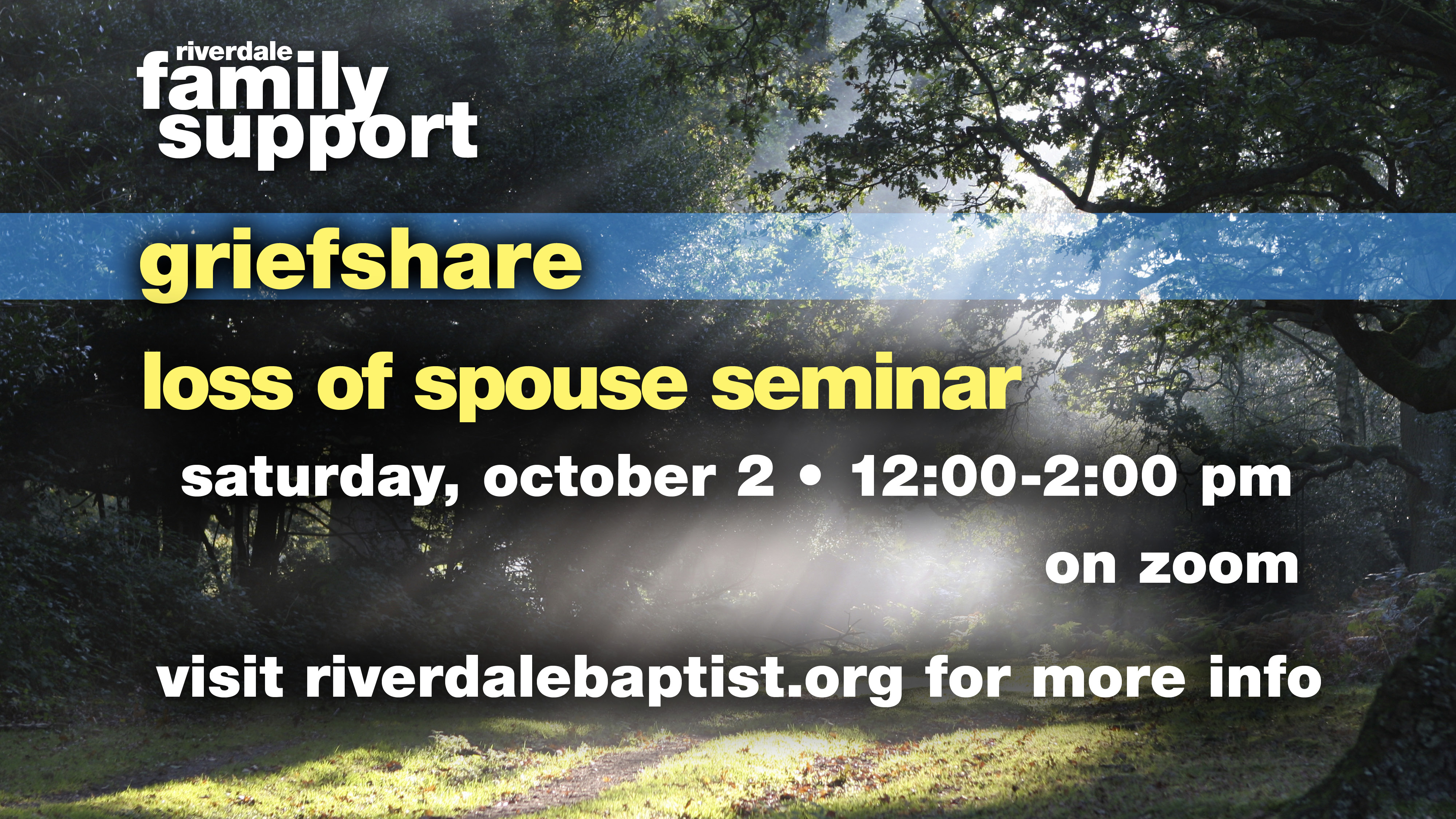 Loss of Spouse Seminar