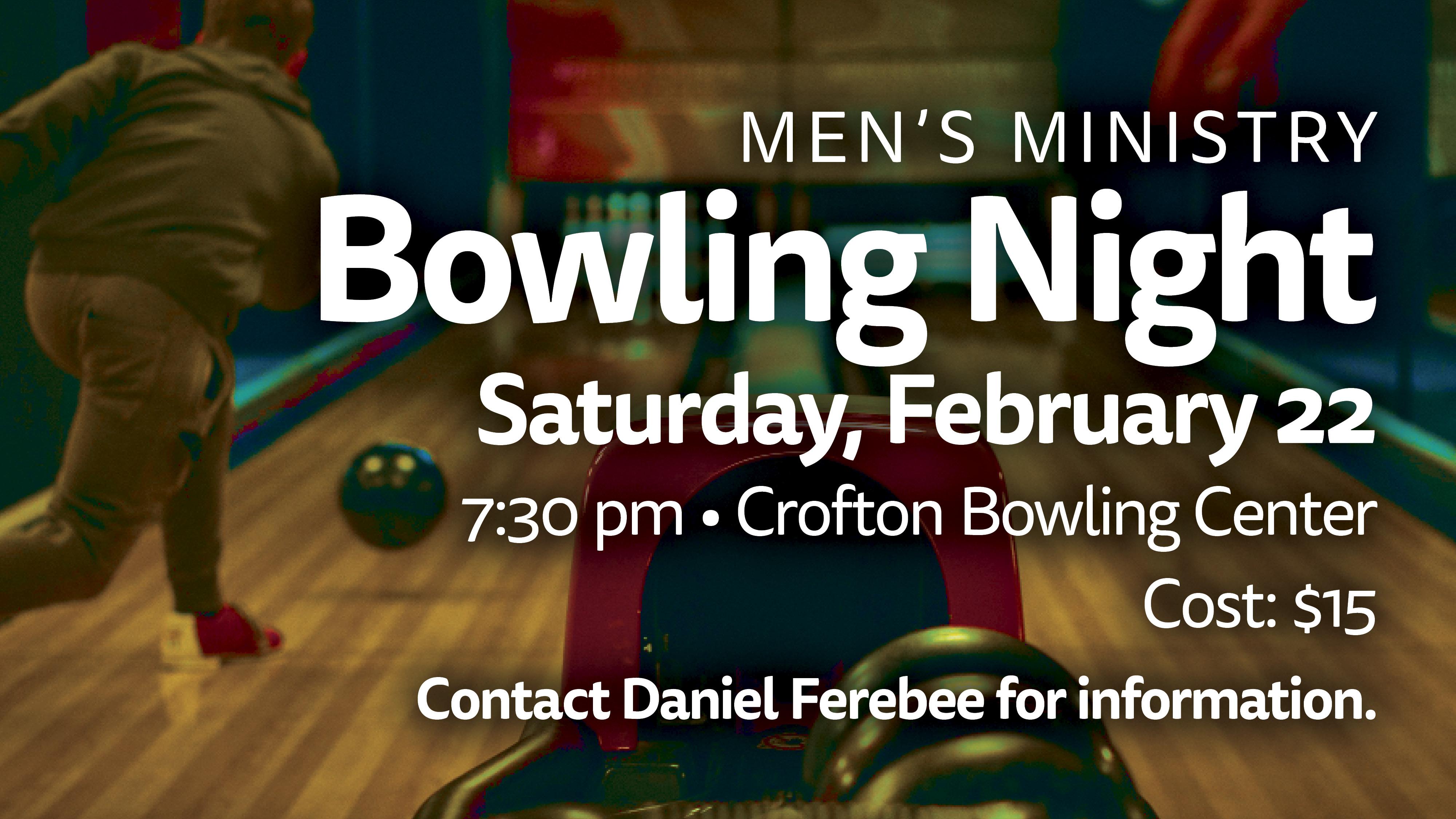 Men's Bowling Night