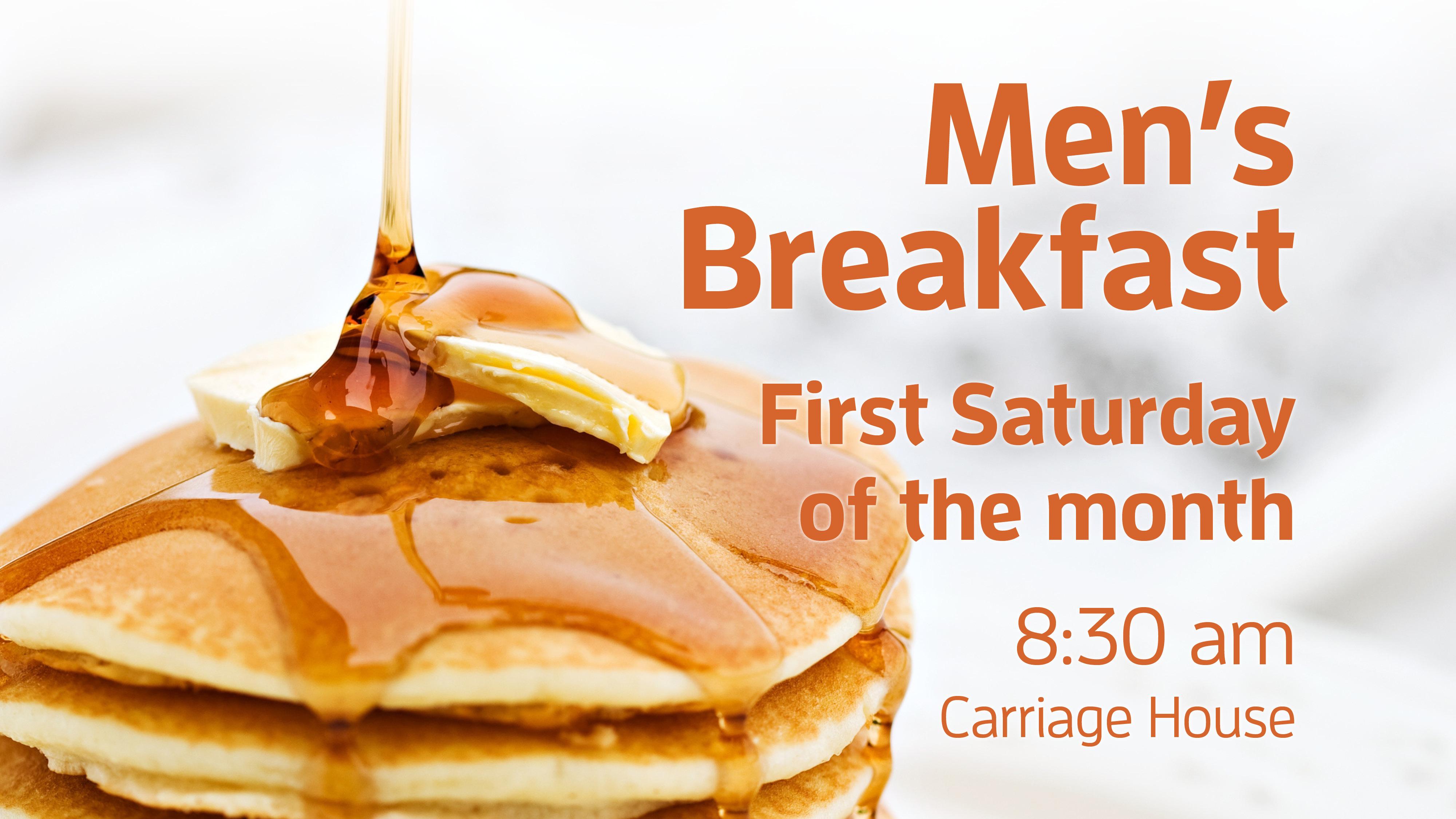 Men's Breakfast class=