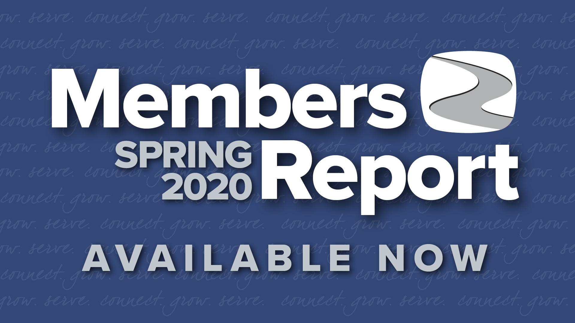 2020 Spring Members Report