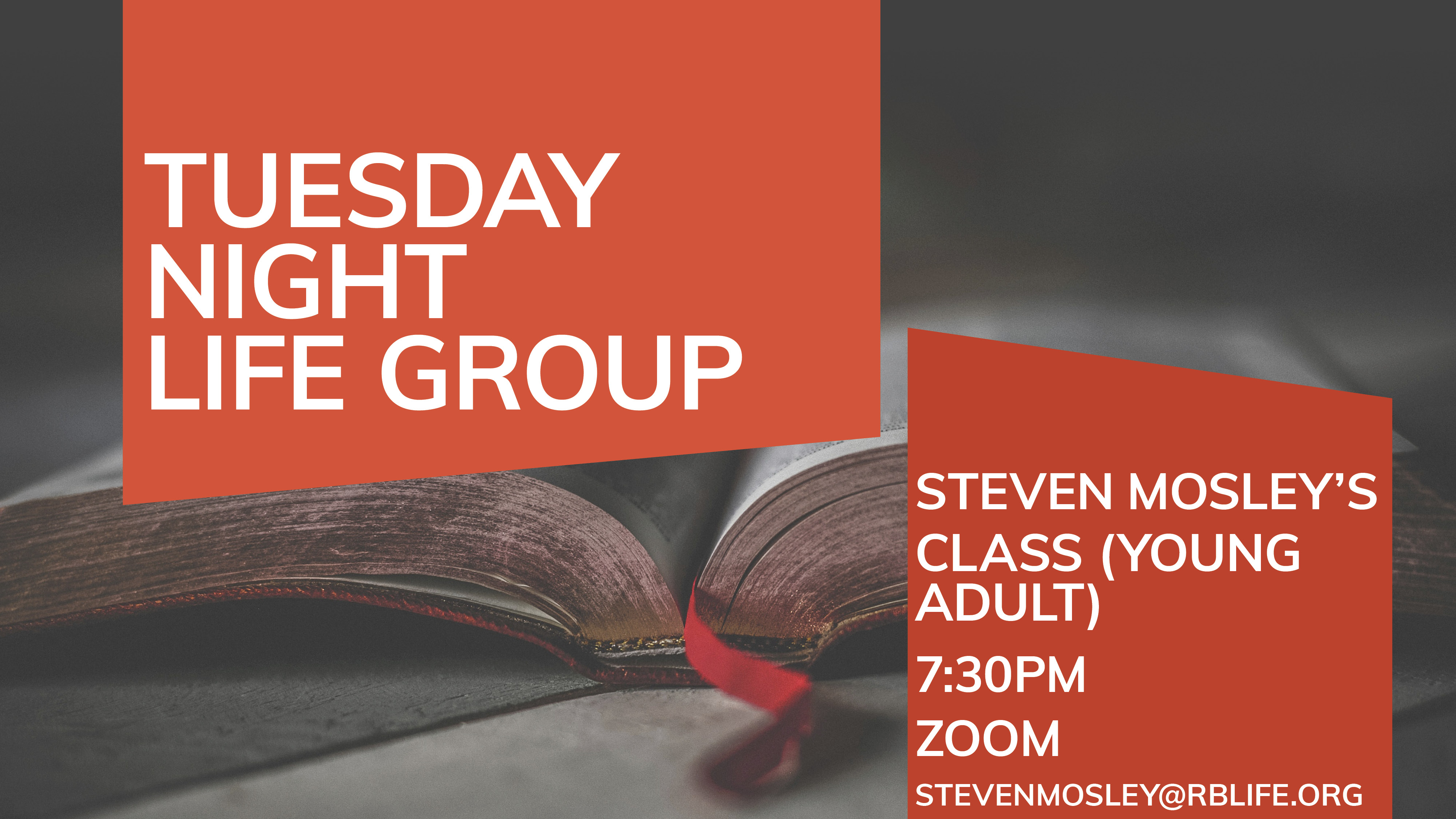 Life Group/Steven Mosely