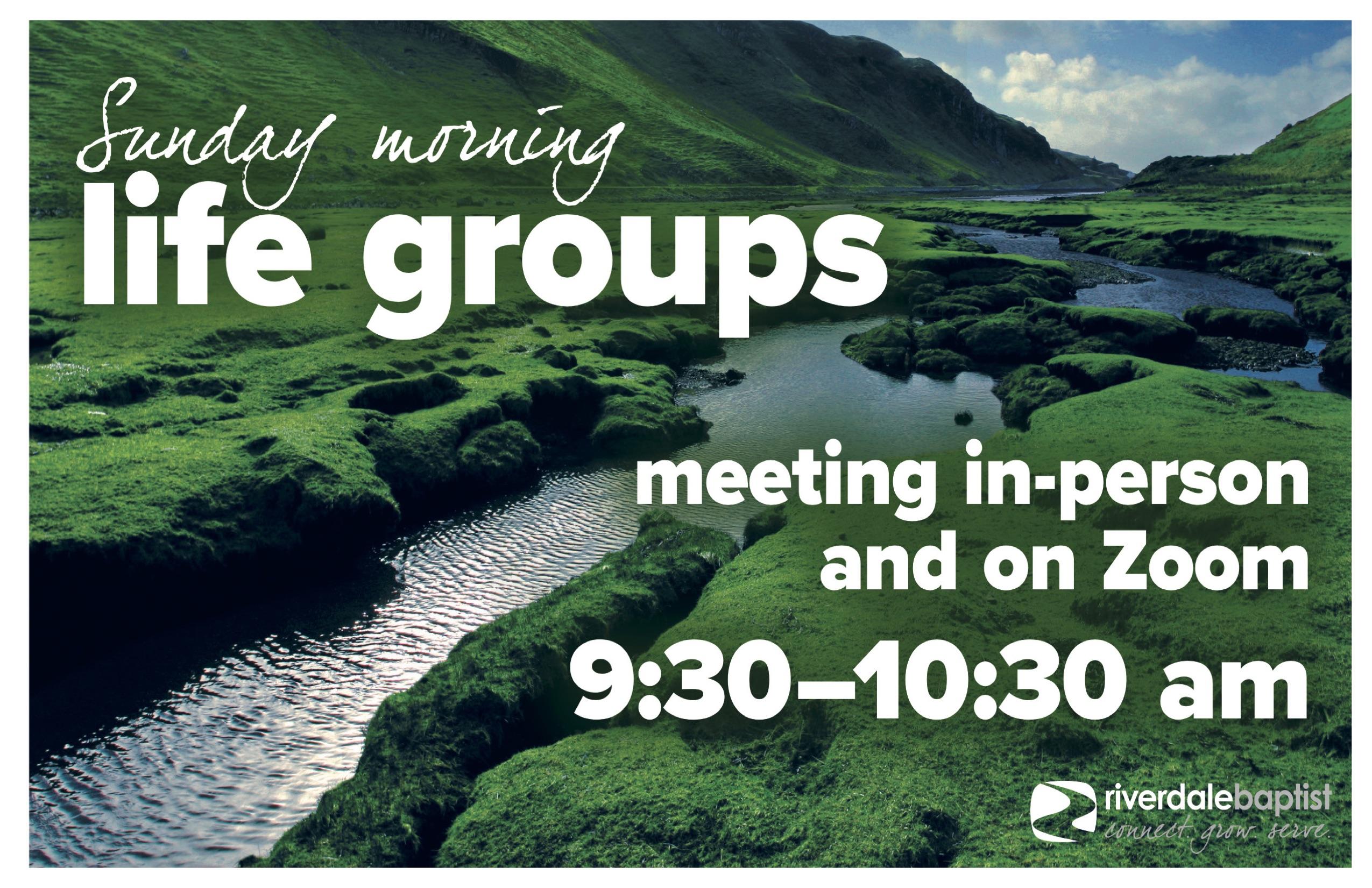 Sunday Morning Life Groups