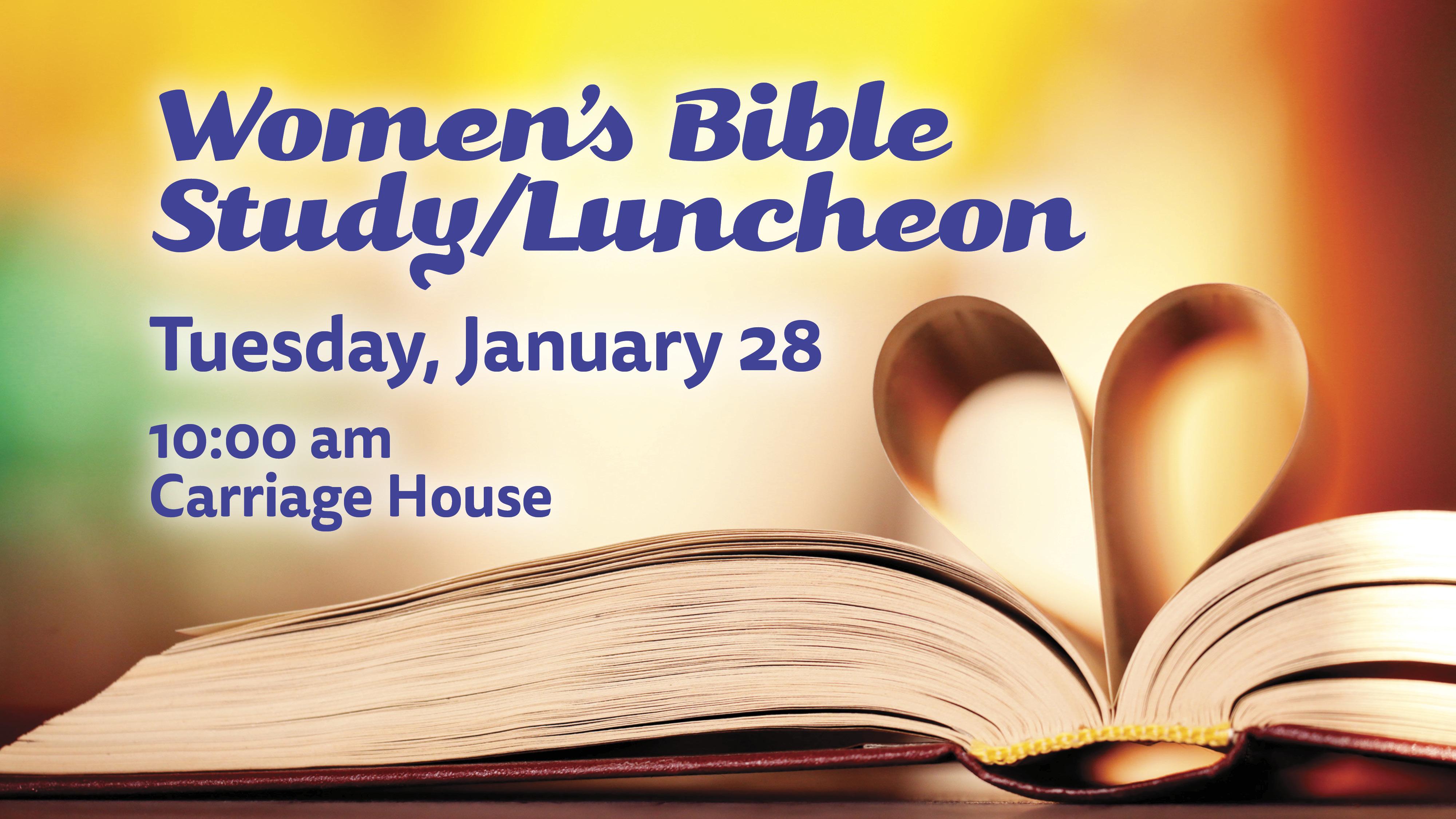 Women's Monthly Bible Study class=