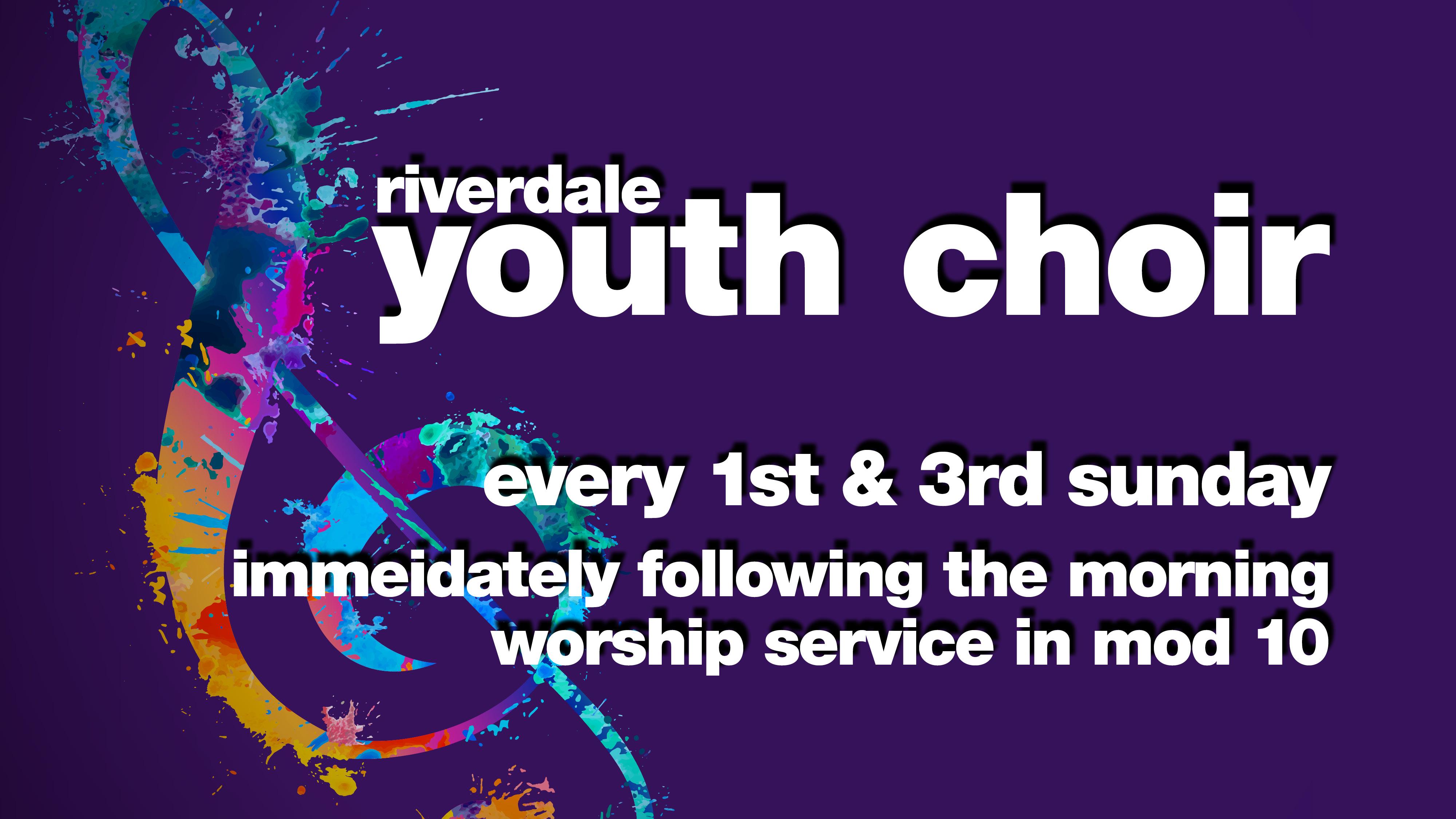 Youth Choir Rehearsal